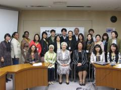 2. Commemorative photo with NWEC staff